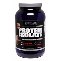 Ultimate Nutrition Protein Isolate - 3 Lbs Chocolate Cr
