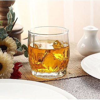 Pasabahce Dance Whisky Glass Set Of 6 370 ml each - Made in Turkey