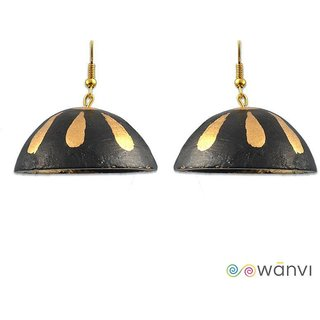 Magical Black Terracotta Earrings