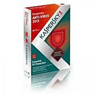 Kaspersky Antivirus 2013 1 User 1 Year