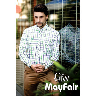 91241f2c5ac93 Gfw Mayfair Cotton Casual Shirt White In India - Shopclues Online