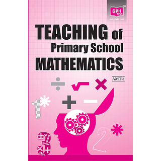 AMT-1 Teaching of Primary School Mathematics (IGNOU Help book for AMT-1 in English Medium)