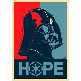 Darth Vader Is Hope Star Wars Poster 12x18 (A3 Size) - 6477658