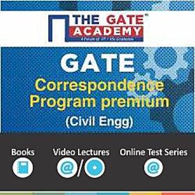 GATE 2016 Correspondence Program Premium-Civil Engineering