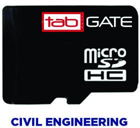 GATE 2016 tabGATE SD Card-Civil Engineering