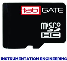 GATE 2016 tabGATE SD Card-Instrumentation Engineering