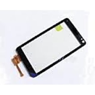 100% Genuine Touch Screen Digitizer With Frame For Nokia Lumia 520 -black  Color