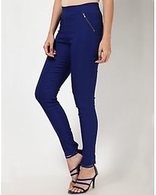Sukuma Designer Stretchable Navy Blue Jegging