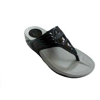 FTR Women's Black Flip Flops