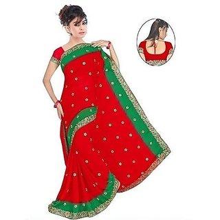 Ladies Art Silk Partywear Saree