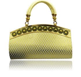 Redfort Golden Fashion Handbag