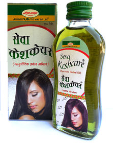 Ayurvedic herbal Seva Keshcare Oil