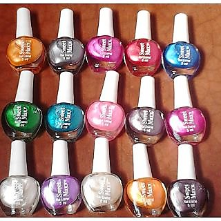 Best Quality Mini Nail Kit Polish Piece In Best Color Free Shipping (Set of 12)