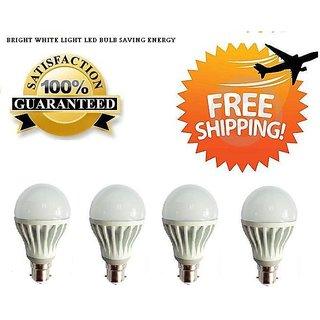 Combo of 9w Imported Led Bulbs Set OF 4 Pcs