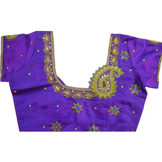 Designer Blouse Aari Embroidered Blouse Hand Embroidered Blouse