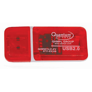 Quantum QHM5075 3 in 1 Card reader with LED with Warranty