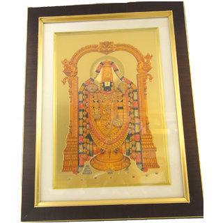 802d0e0c4b7 Gold Foil Print Frame of Balaji
