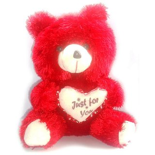 Porcupine 12 Inches Teddy Bear - Red