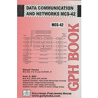 MCS-042 Data Communication And Computer Networks (IGNOU Help book for MCS-042 in English Medium)