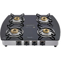 Pigeon Gas Stove Blackline 4 Burner Oval - Auto