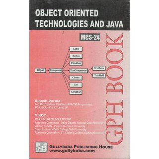MCS-024 Object Oriented Technologies And Java Programming (IGNOU Help book for MCS-024 in English Medium)