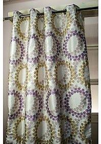 allison faux silk curtain