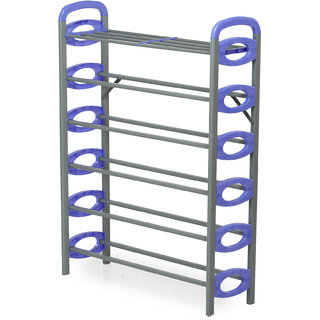 e6a0b6ad5e5 Nilkamal Redley 6Layer Iron Shoe Rack (Blue) Best Deals With Price ...