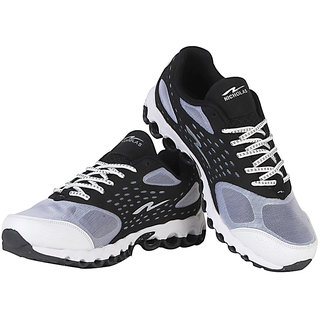 Nicholas Men's Sports Shoes Black And Grey