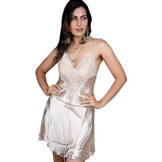 b06f907130 Soft N Sexy Silver Bridal Hot Nighty Sleepwear 548 Prices in India ...