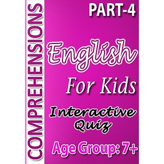 English Comprehensions for Kids-Part-4