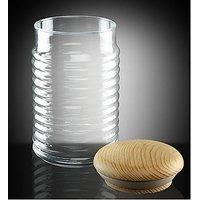 Pasabahce Babylon Glass Jar -Medium-Set of 1 - Made in Turkey