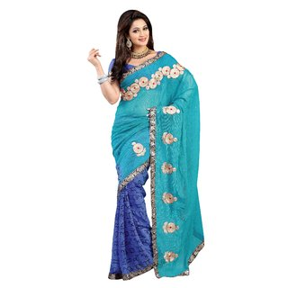 Alira Printed Georgette Saree