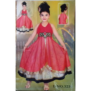 e661bf32a0 Baby Girl Georgette Frock 3236 Red Prices in India- Shopclues ...
