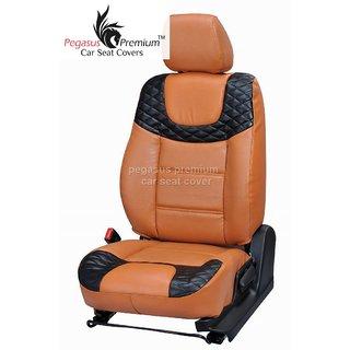 Honda Brio Leatherite Customised Car Seat Cover pp495