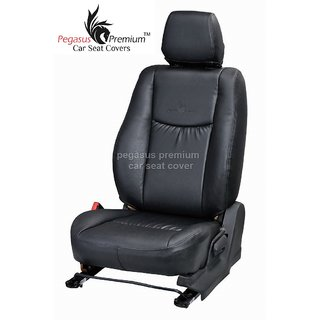 Toyota Fortuner Leatherite Customised Car Seat Cover pp989