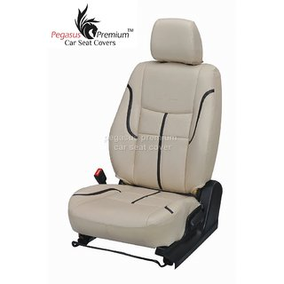 Toyota New Etios Leatherite Customised Car Seat Cover pp984
