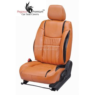 Mahindra Quanto Leatherite Customised Car Seat Cover pp1028