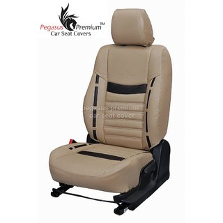 Toyota New Etios Leatherite Customised Car Seat Cover pp986