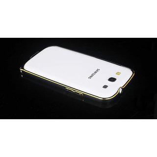 KMS S3 Bumper metal Gold-Edge Aluminum bumper for Samsung Galaxy S3/S3 Neo -Black