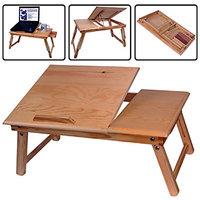 Laptop Notebook Tilting Table Bed Food Tray Drawer Desk