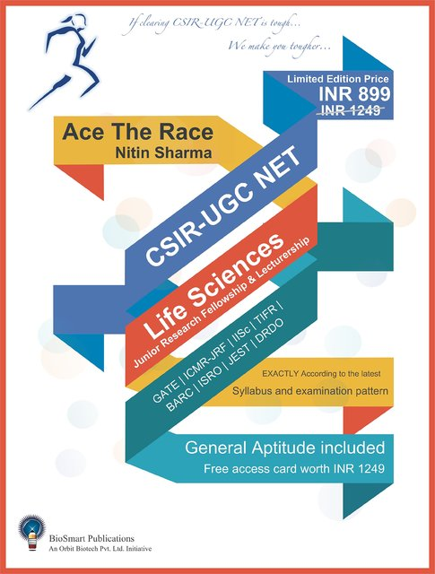 Ace The Race: CSIR-UGC NET Life Sciences
