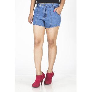 TrendBAE Trendy Hot Pants - Blue