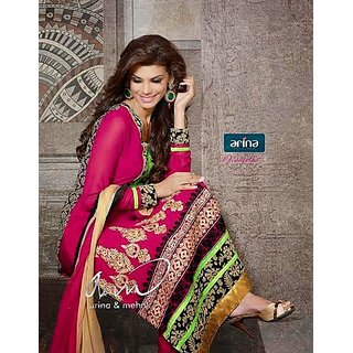 Bollywood Exclusive Wedding Party Semi Stitched Designer Anarkali Salwar suits