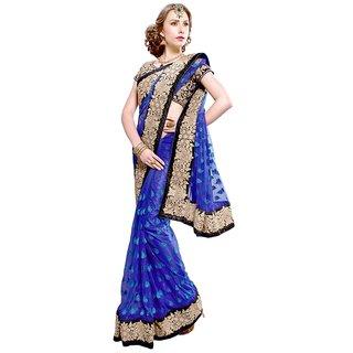 2f6bc18b312 Online KAIA 5101B Net Saree Prices - Shopclues India