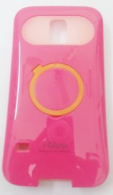 Samsung S5 iGlow Cover - Pink Colour