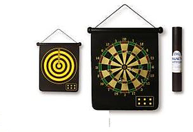 Protoner Magnetic Dart Board Two Sided With 6 Darts 17