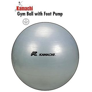Kamachi Exercise Gym Ball 85cm With Foot Pump