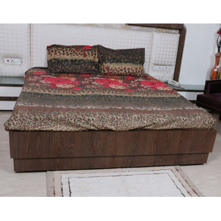 Indiweaves Polyester  4 PCS Super Comfort Winter Special Quilts
