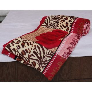 Indiweaves Polyester Double Bed AC Mink Blanket