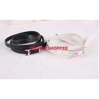 Imported Quality Leather Rivet Belt Bracelet for men and women